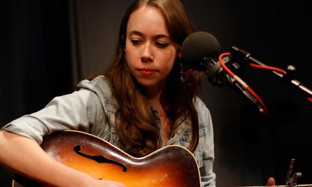 Sarah Jarosz performs in the Soundcheck studio.