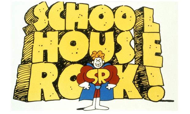 The educational and fun 1970's Saturday morning cartoon 'Schoolhouse Rock' turns 40 years old this year.