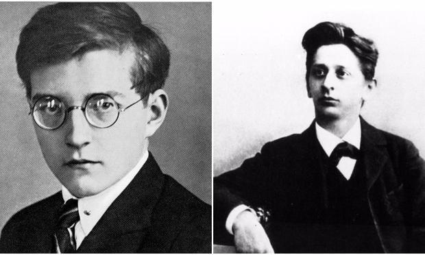 Dmitry Shostakovich and Alexander von Zemlinsky.