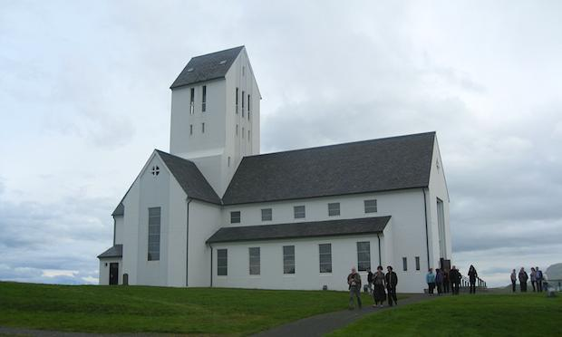 The cathedral in Skalholt, Iceland