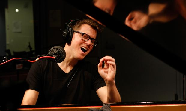 Son Lux performs in the Soundcheck studio.