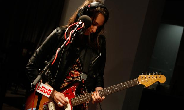 Speedy Ortiz performs in the Soundcheck studio.