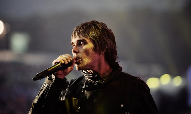 The Stone Roses performing in the new documentary 'The Stone Roses: Made Of Stone.'