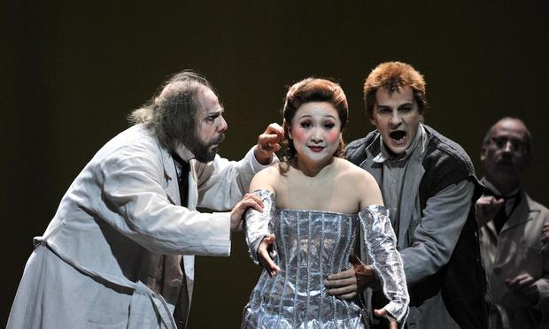 Offenbach's 'The Tales of Hoffman' from the Grand Liceu Theatre in Barcelona.