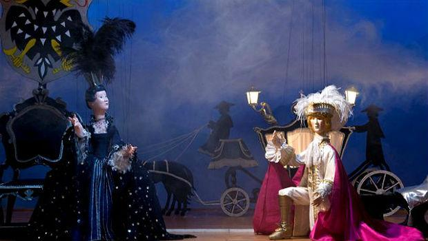 Mozart's 'The Magic Flute' staged by the Amsterdam Marionette Theater