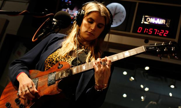 TEEN performs in the Soundcheck studio.