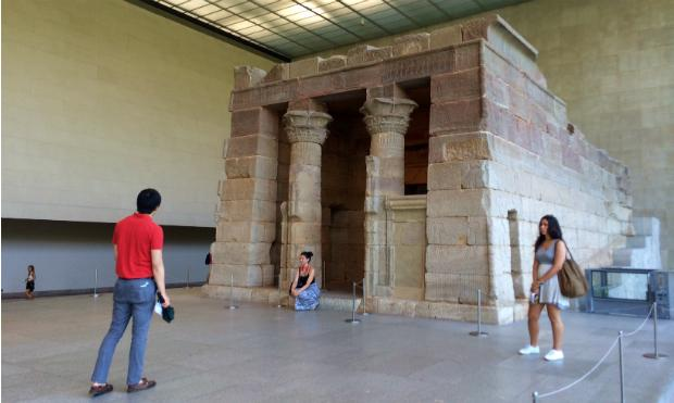 The Temple of Dendur at the Metropolitan Museum of Art