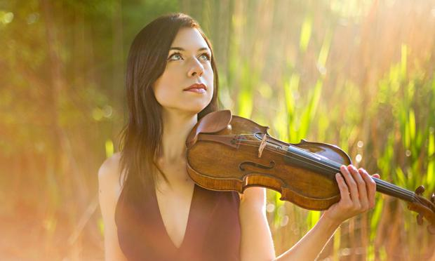 Violinist Tessa Lark received a 2016 Avery Fisher Career Grant.