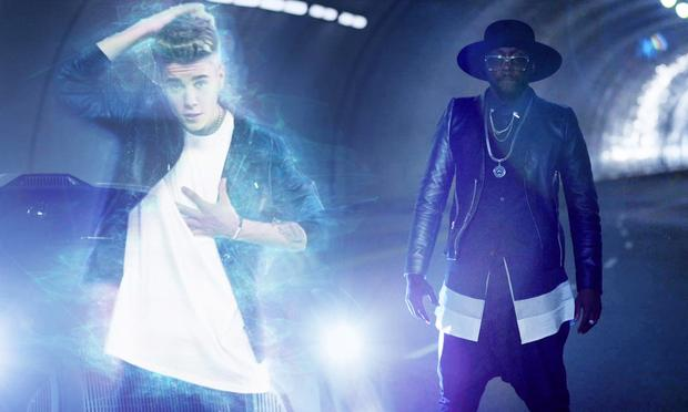 The new hit video from will.i.am and Justin Bieber may borrow the inventive motion effects from a Japanese group called World Order.