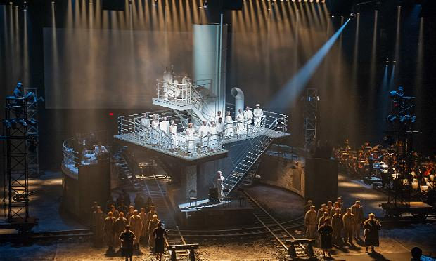 A scene from 'The Passenger' at the Park Avenue Armory
