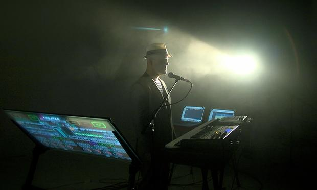 Thomas Dolby's new film and live music project is called 'The Invisible Lighthouse.'