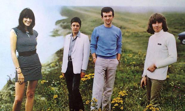 Cover of the 1979 album '20 Jazz Funk Greats' from industrial music pioneers Throbbing Gristle.