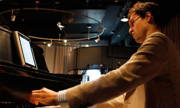 Timo Andres performs in the Soundcheck studio.