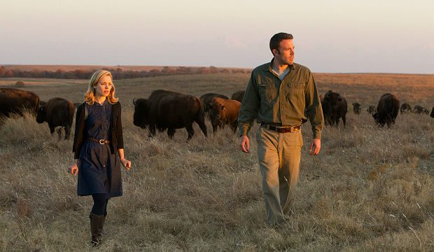Rachel McAdams and Ben Affleck in 'To the Wonder'