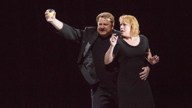 Ben Heppner and Nine Stemme in 'Tristan und Isolde'