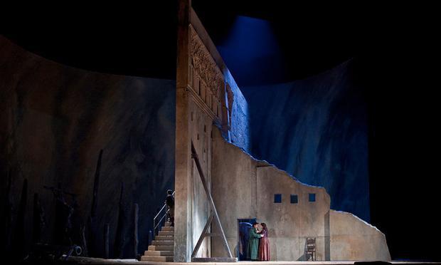 A Scene from Verdi's 'Il Trovatore'