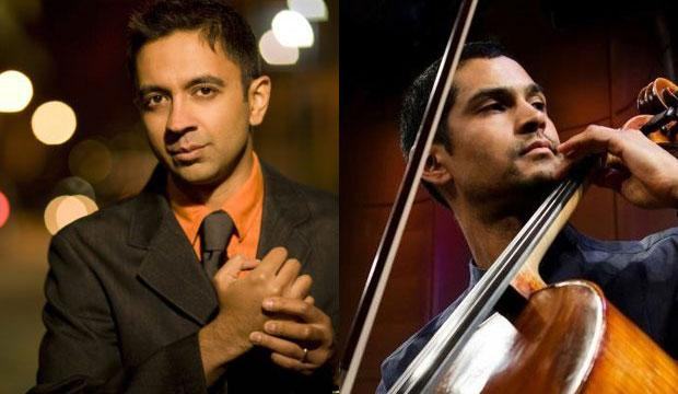 Pianist Vijay Iyer and cellist Jeffrey Zeigler