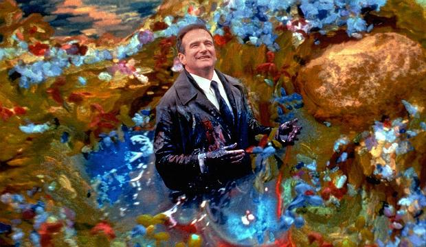 A still from 'What Dreams May Come' featuring Robin Williams