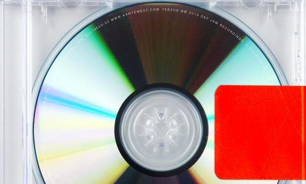 Yeezus real album cover