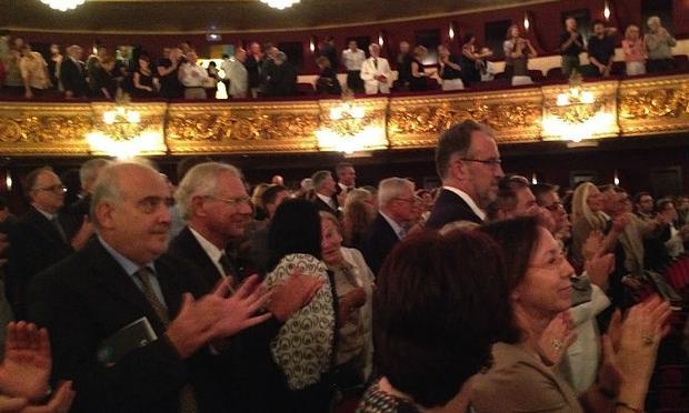 Audiences at the Teatre del Liceu, Barcelona
