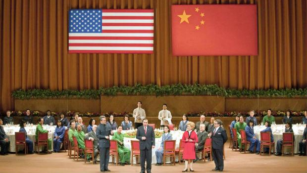 The Banquet Scene from Act I, Scene 3 in 'Nixon in China'