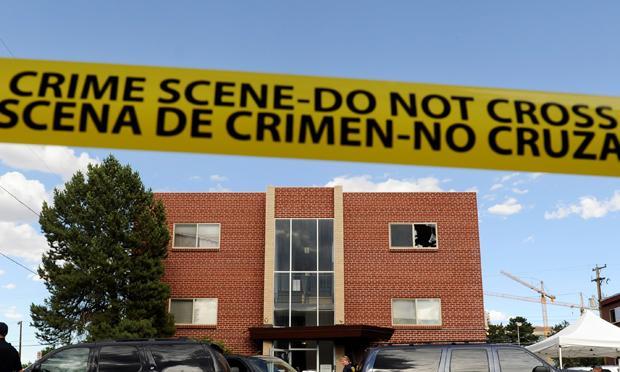 Aurora crime scene