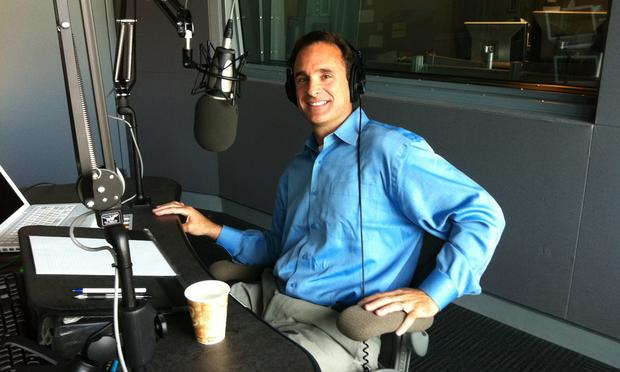 Dr. Bradley Bernstein in our WGBH studios.