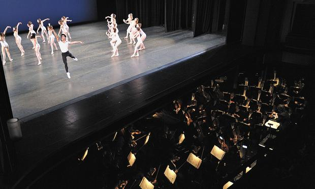 The Miami City Ballet and the Cleveland Orchestra.