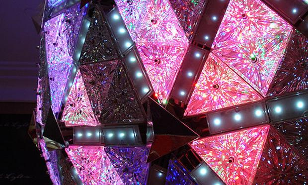 Times Square New Year's Eve Ball, held in Macy's Store on 34th Street