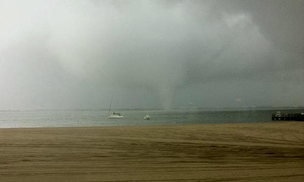 tornado, jamaica bay