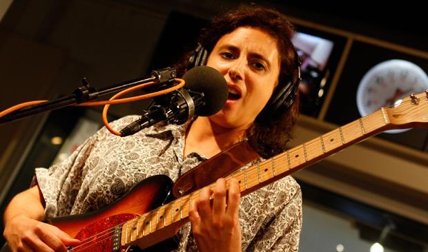 Sara Lucas of Callers, in the Soundcheck studio.
