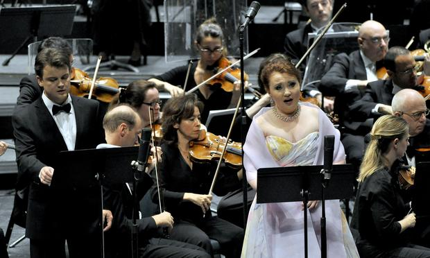 Soprano Albina Shagimuratova in 'A Life for the Tsar' from the Montpellier Festival.