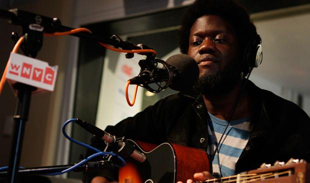Michael Kiwanuka performs live in the Soundcheck studio.