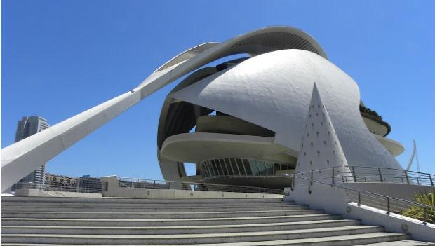 Reina Sofia Arts Center, Valencia, Spain