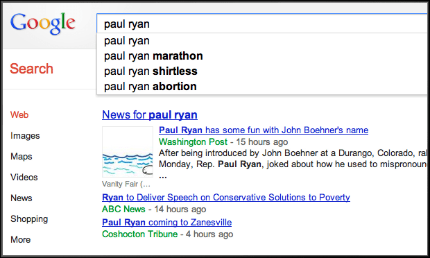 paul ryan search