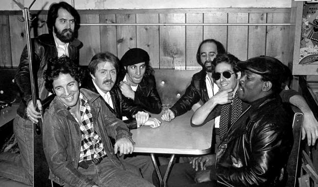 Bruce Springsteen and the E-Street Band.