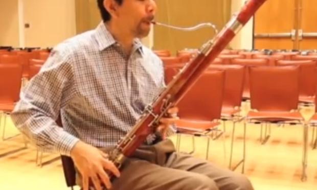 Philadelphia Orchestra bassoonist Daniel Matsukawa