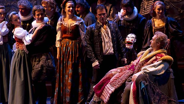 Verdi's 'Rigoletto' from the the Teatro Regio in Turin, Italy.