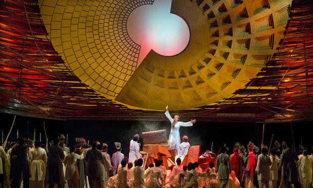 A scene from Berlioz's 'Les Troyens'
