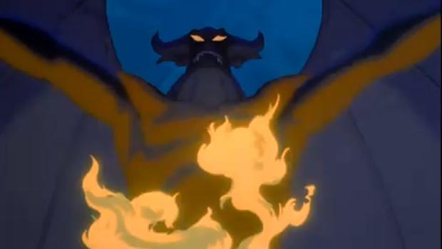 A scene from Disney's 'Fantasia.'