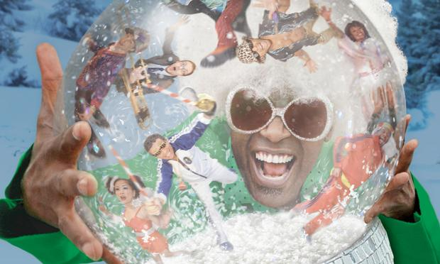For the last ten years, Everett Bradley has performed with Holidelic, a funked-up holiday revue.