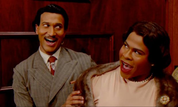 Comedy duo Key and Peele spoof 'Baby, It's Cold Outside' with the far-creepier 'Just Stay For The Night.'