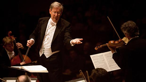 Sir John Eliot Gardiner leads the Orchestre Revolutionnaire et Romantique and Monteverdi Choir in Beethoven's 'Missa Solemnis' at Carnegie Hall on Nov. 17, 2012.