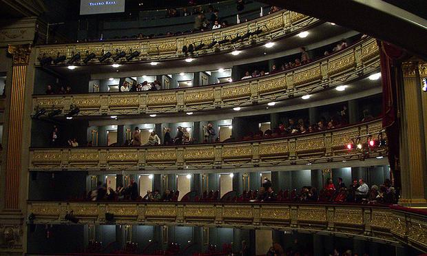 Spain's Teatro Real, or Royal Theater, in Madrid.