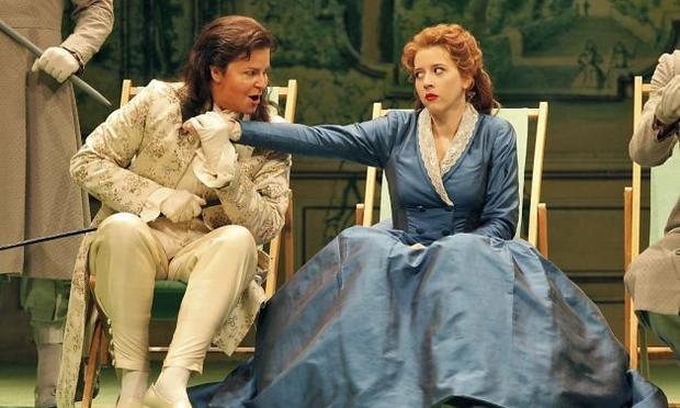 Susan Graham as Xerxes and Lisette Oropesa as Romilda in Handel's 'Xerxes'