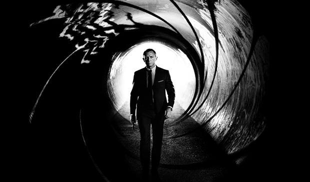 Daniel Craig returns as James Bond in Skyfall.