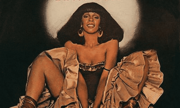 Cover for Donna Summer's single I Feel Love