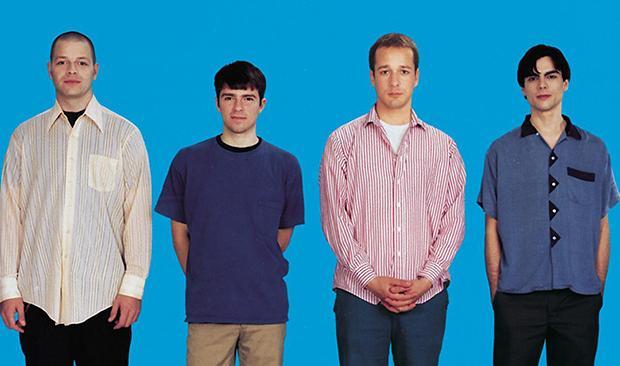 Cover to Weezer's debut album.