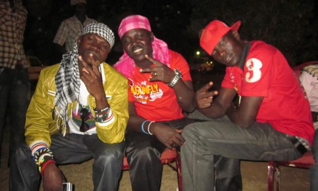The Freedom Boyz, a self-described dance music group who entered South Sudan's contest for a new national anthem.