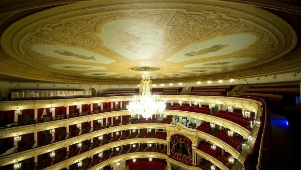 The Bolshoi Theatre in Moscow Reopens Oct. 28